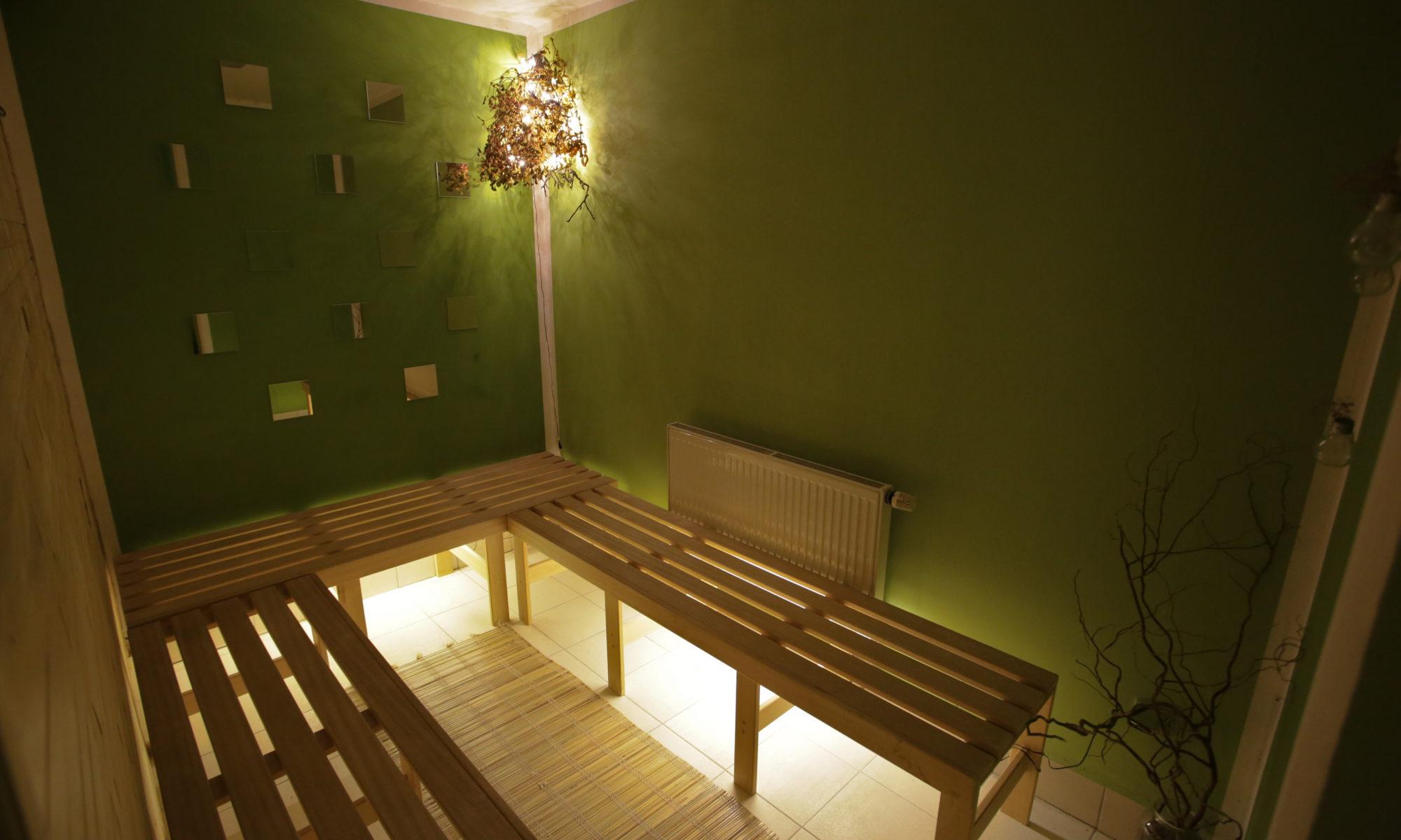 prostor pro odpočinek celé rodiny