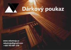 dárkový poukaz sauna