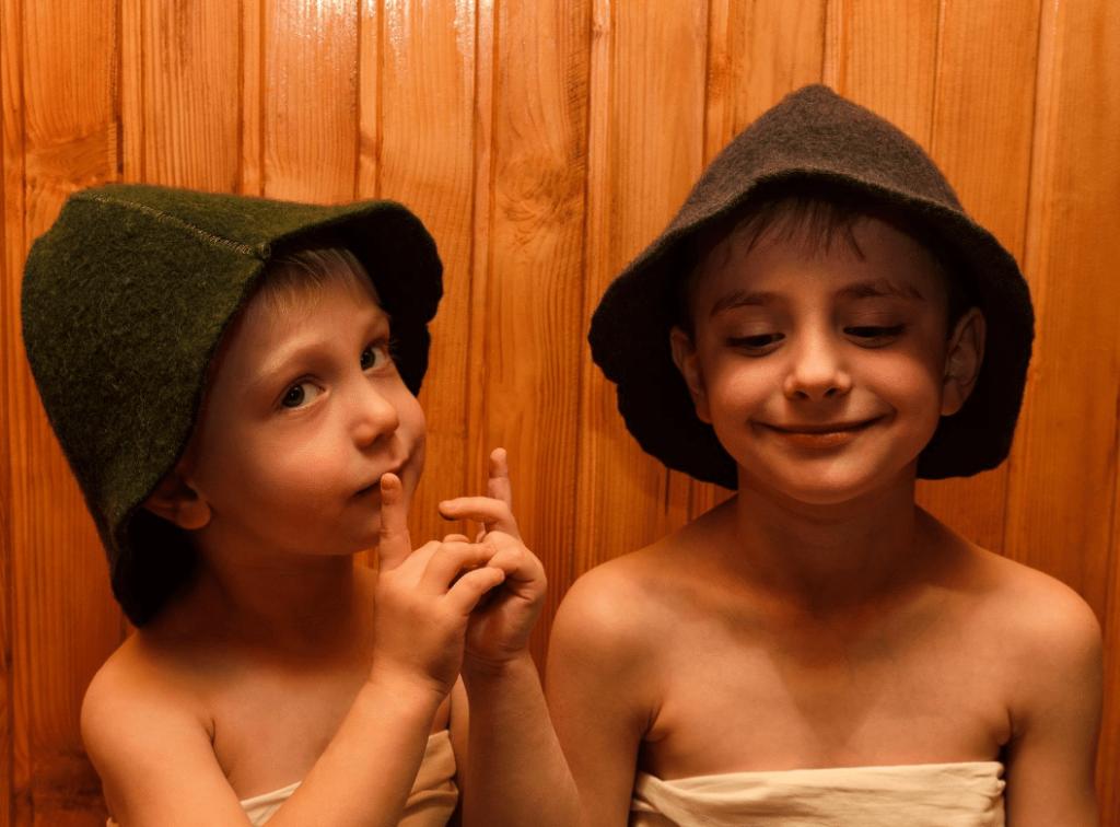 kurz saunování pro děti od 3 let